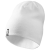 Level beanie in white-solid