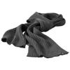 Broach scarf in grey