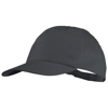 Basic 5-panel cotton cap in grey