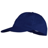 Basic 5-panel non woven cap in royal-blue