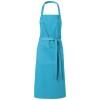 Viera apron with 2 pockets in aqua-blue