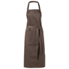 Viera apron with 2 pockets in brown