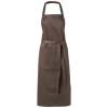 Viera apron in brown