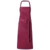 Viera apron in burgundy