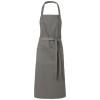 Viera apron with 2 pockets in grey