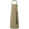 Viera apron with 2 pockets in khaki