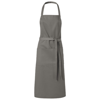 Viera apron with 2 pockets in light-grey