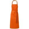 Viera apron with 2 pockets in orange