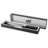 Finesse Chef's knife in black-solid-and-silver