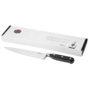 Essential chef's knife in black-solid-and-silver