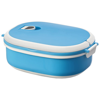 Spiga 750 ml microwave safe lunch box in blue-and-white-solid