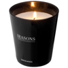 Lunar scented candle in black-solid