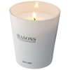 Lunar scented candle in white-solid