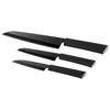 Element 3-piece knife set in black-solid