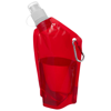 Cabo mini water bag in transparent-red