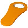 Rally magnetic drinking bottle opener in orange