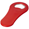 Rally magnetic drinking bottle opener in red