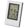 Rimini desk weather station in silver