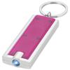 Castor LED keychain light in magenta