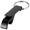 Tao bottle and can opener keychain in black-solid