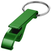 Tao bottle and can opener keychain in green