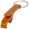Tao bottle and can opener keychain in orange