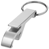 Tao bottle and can opener keychain in silver