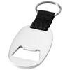 Keta bottle opener keychain in silver