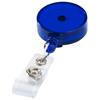 Lech roller clip in transparent-blue