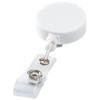 Lech roller clip in white-solid
