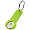 Shoppy coin holder keychain in lime
