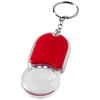 Zoomy magnifier keychain light in red