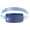 Raver wrist strap in royal-blue-and-transparent-blue