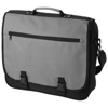 Anchorage 2-buckle closure conference bag in ash