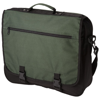 Anchorage 2-buckle closure conference bag in dark-green