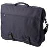 Anchorage 2-buckle closure conference bag in navy
