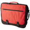 Anchorage 2-buckle closure conference bag in red