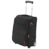 Airporter carry-on trolley in black-solid