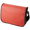 Mission non-woven messenger bag in red