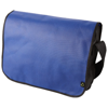 Mission non-woven messenger bag in royal-blue