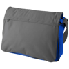 Vermont messenger bag in grey-and-royal-blue