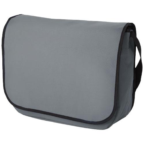 Malibu messenger bag in grey