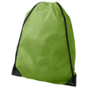 Oriole premium drawstring backpack in apple-green