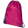 Oriole premium drawstring backpack in cerise