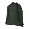 Oriole premium drawstring backpack in green