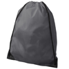 Oriole premium drawstring backpack in light-grey