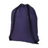Oriole premium drawstring backpack in purple