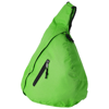 Brooklyn mono-shoulder backpack in bright-green