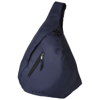 Brooklyn mono-shoulder backpack in navy