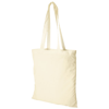 Carolina 100 g/m² cotton tote bag in natural